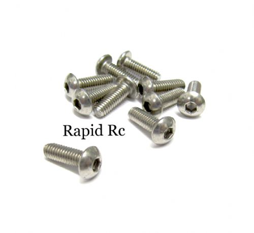 M4x10mm Stainless Steel Socket Button head Bolt
